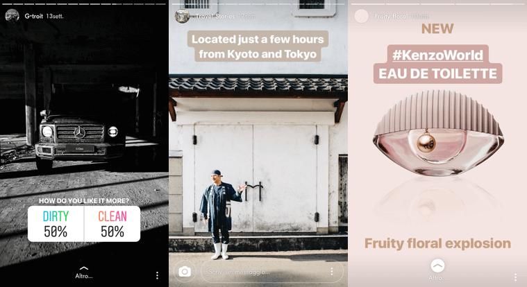 466c9f02c Le tendenze attuali degli utenti si spostano verso tipologie di annunci  rapidi, di immediata comprensione, che ben si connotano nelle Instagram  Stories.